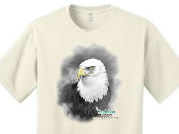 Audubon Sharon Wildlife Rehabilitation T-shirts Available in Nature Store June 1st