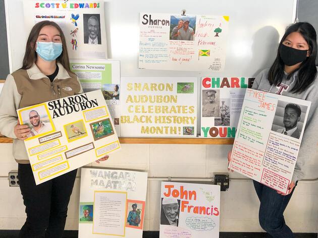Celebrating Black Conservation Heroes at the Sharon Audubon Center